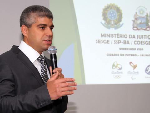Secretário da Segurança Pública, Maurício Teles Barbosa. Foto: Ascom SSP/BA